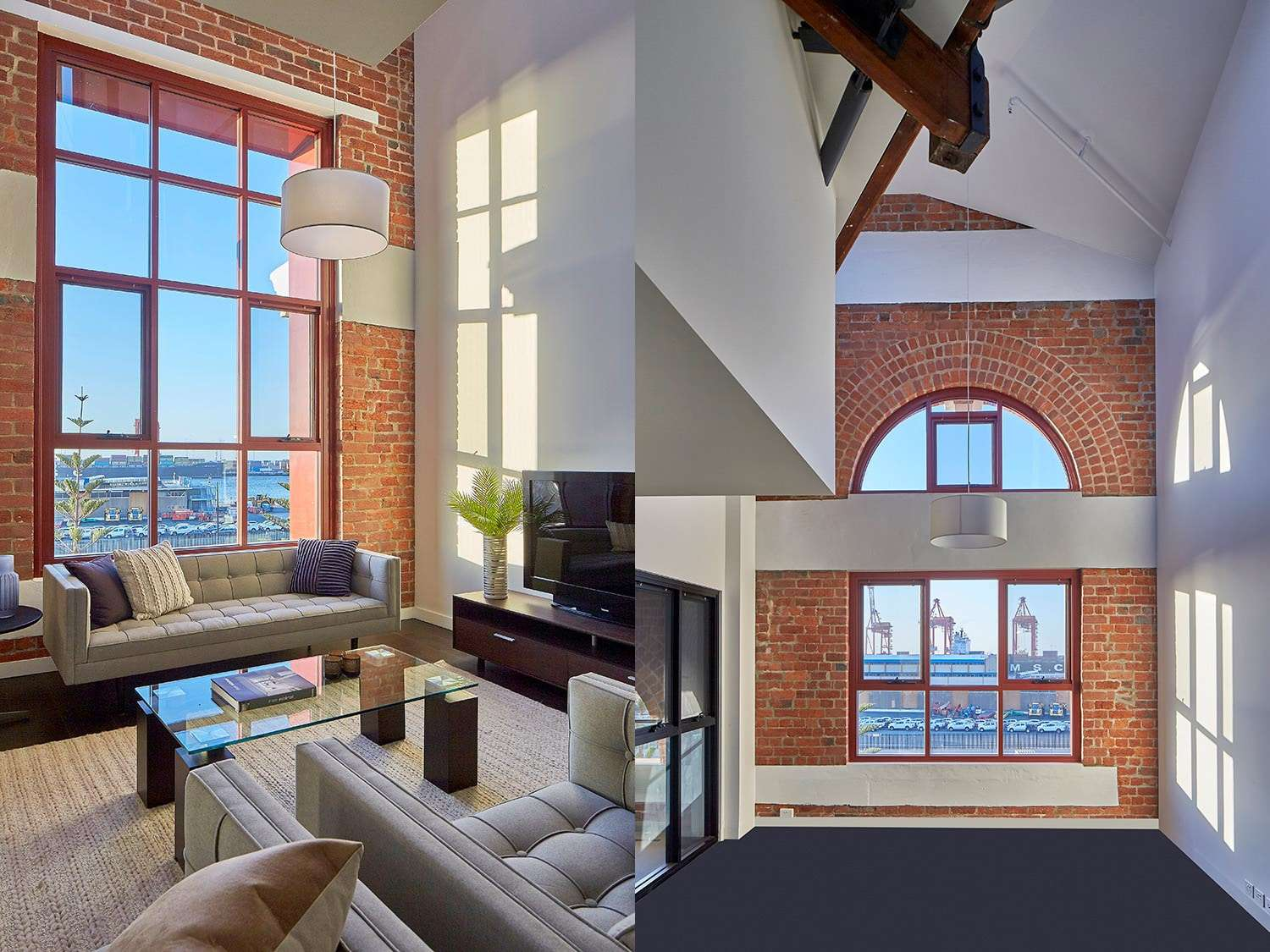 Heirloom Heritage Apartments, Fremantle - Living Room Window and Arch Window